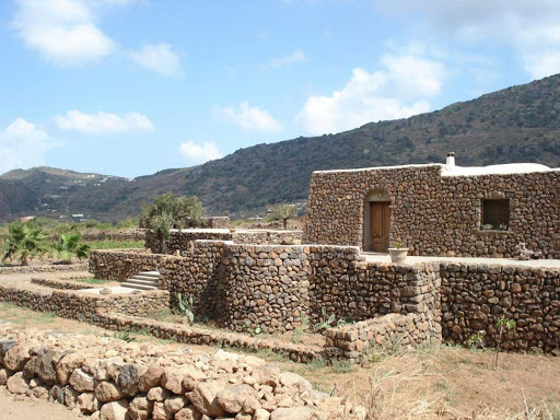 Pantelleria is the largest island off the Sicilian coastline, The strong wind that blows here all year around has forced inhabitants to protect their plants